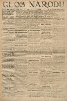 Głos Narodu (wydanie wieczorne). 1917, nr284