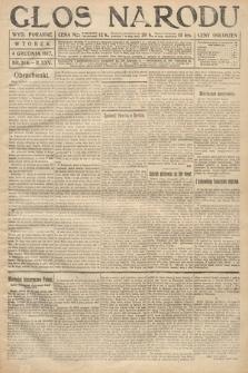 Głos Narodu (wydanie poranne). 1917, nr284