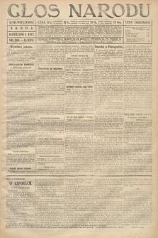 Głos Narodu (wydanie wieczorne). 1917, nr286