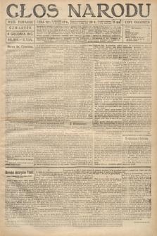 Głos Narodu (wydanie poranne). 1917, nr286