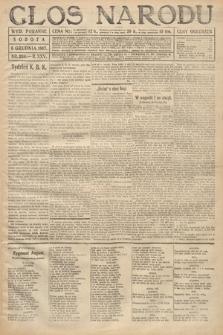Głos Narodu (wydanie poranne). 1917, nr288