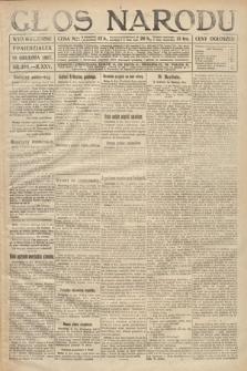 Głos Narodu (wydanie wieczorne). 1917, nr289