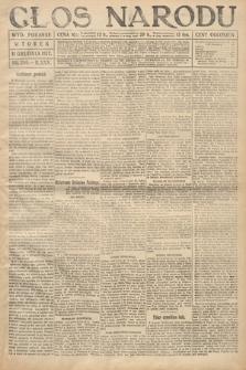 Głos Narodu (wydanie poranne). 1917, nr289