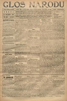 Głos Narodu (wydanie wieczorne). 1917, nr291