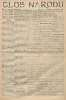 Głos Narodu (wydanie poranne). 1917, nr291