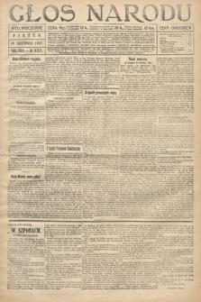 Głos Narodu (wydanie wieczorne). 1917, nr293