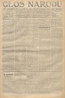 Głos Narodu (wydanie wieczorne). 1917, nr294