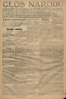 Głos Narodu (wydanie wieczorne). 1917, nr295