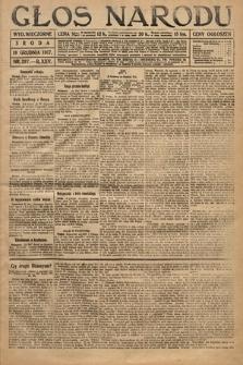 Głos Narodu (wydanie wieczorne). 1917, nr297