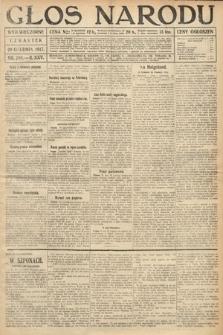 Głos Narodu (wydanie wieczorne). 1917, nr298