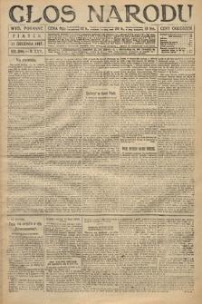 Głos Narodu (wydanie poranne). 1917, nr298