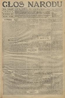 Głos Narodu (wydanie poranne). 1917, nr299