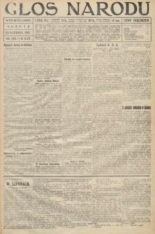 Głos Narodu (wydanie wieczorne). 1917, nr300