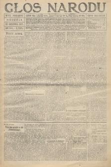Głos Narodu (wydanie poranne). 1917, nr300
