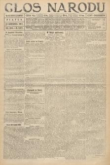 Głos Narodu (wydanie wieczorne). 1917, nr303
