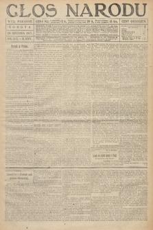 Głos Narodu (wydanie poranne). 1917, nr303