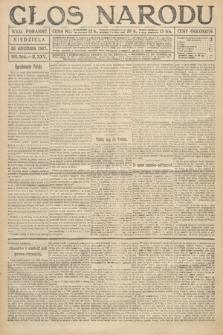 Głos Narodu (wydanie poranne). 1917, nr304