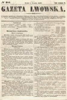 Gazeta Lwowska. 1857, nr281