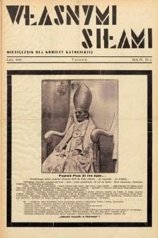 Własnymi Siłami : miesięcznik dla kobiety katolickiej. 1939, nr2