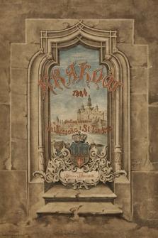 Klejnoty miasta Krakowa : dwadzieścia cztery widoków w chromolitografiach podług oryginalnych akwarel Juliusza Kossaka iStanisława Tondosa