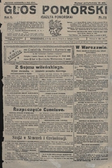 Głos Pomorski. 1922, nr34