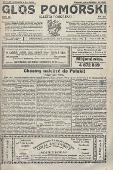 Głos Pomorski. 1922, nr35
