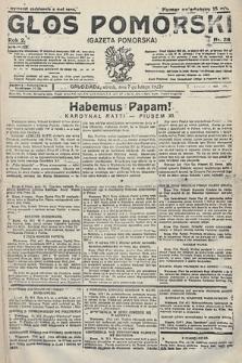 Głos Pomorski. 1922, nr36