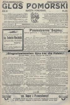 Głos Pomorski. 1922, nr37