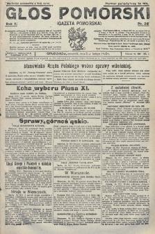 Głos Pomorski. 1922, nr38