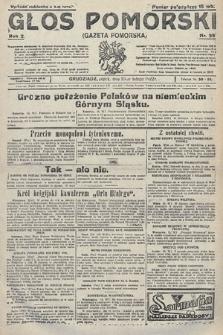Głos Pomorski. 1922, nr39