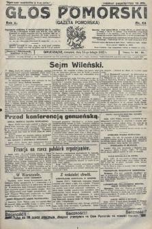 Głos Pomorski. 1922, nr44