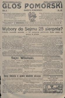 Głos Pomorski. 1922, nr46