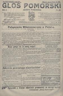 Głos Pomorski. 1922, nr48