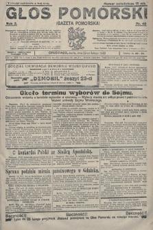 Głos Pomorski. 1922, nr49