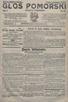 Głos Pomorski. 1922, nr51