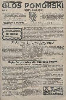 Głos Pomorski. 1922, nr52