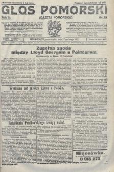 Głos Pomorski. 1922, nr53