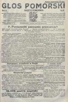 Głos Pomorski. 1922, nr61