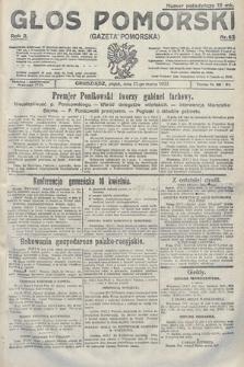 Głos Pomorski. 1922, nr62