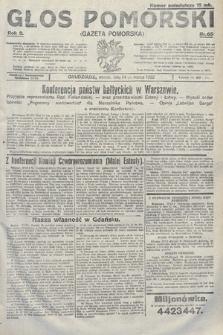 Głos Pomorski. 1922, nr65
