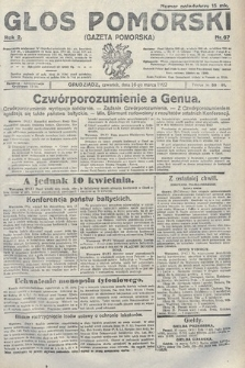Głos Pomorski. 1922, nr67