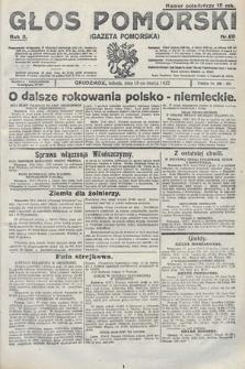 Głos Pomorski. 1922, nr69