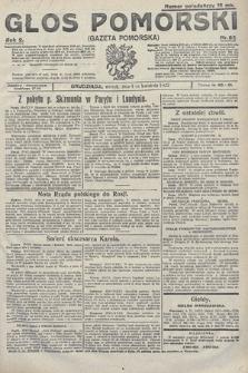 Głos Pomorski. 1922, nr82