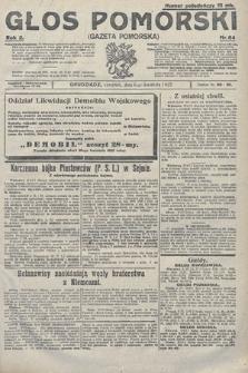 Głos Pomorski. 1922, nr84