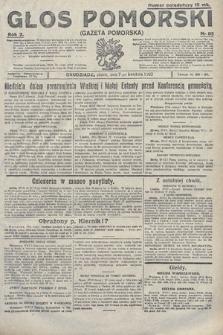 Głos Pomorski. 1922, nr85