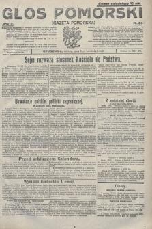Głos Pomorski. 1922, nr86