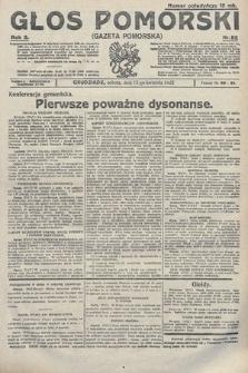 Głos Pomorski. 1922, nr92