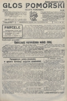 Głos Pomorski. 1922, nr93