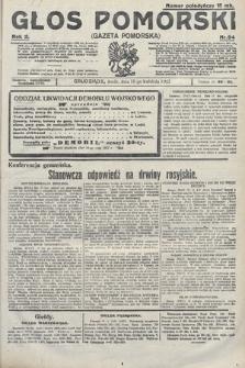 Głos Pomorski. 1922, nr94