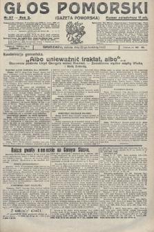 Głos Pomorski. 1922, nr97